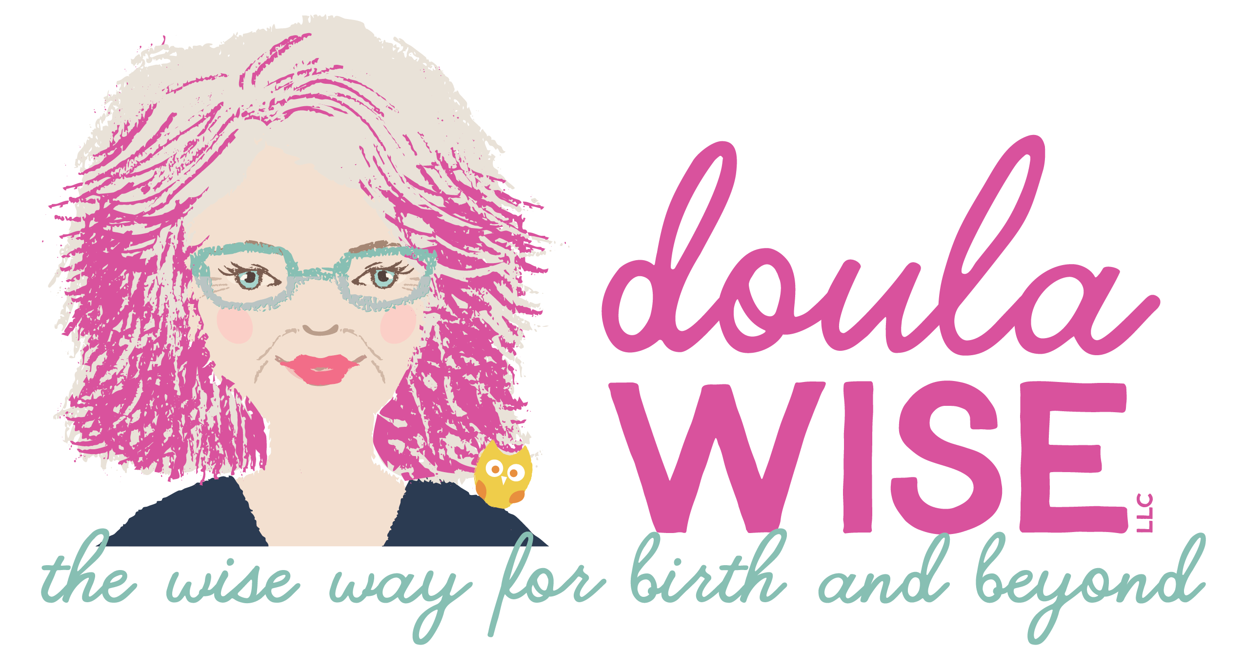 Client List | Doula Wise Design Logo with Tagline